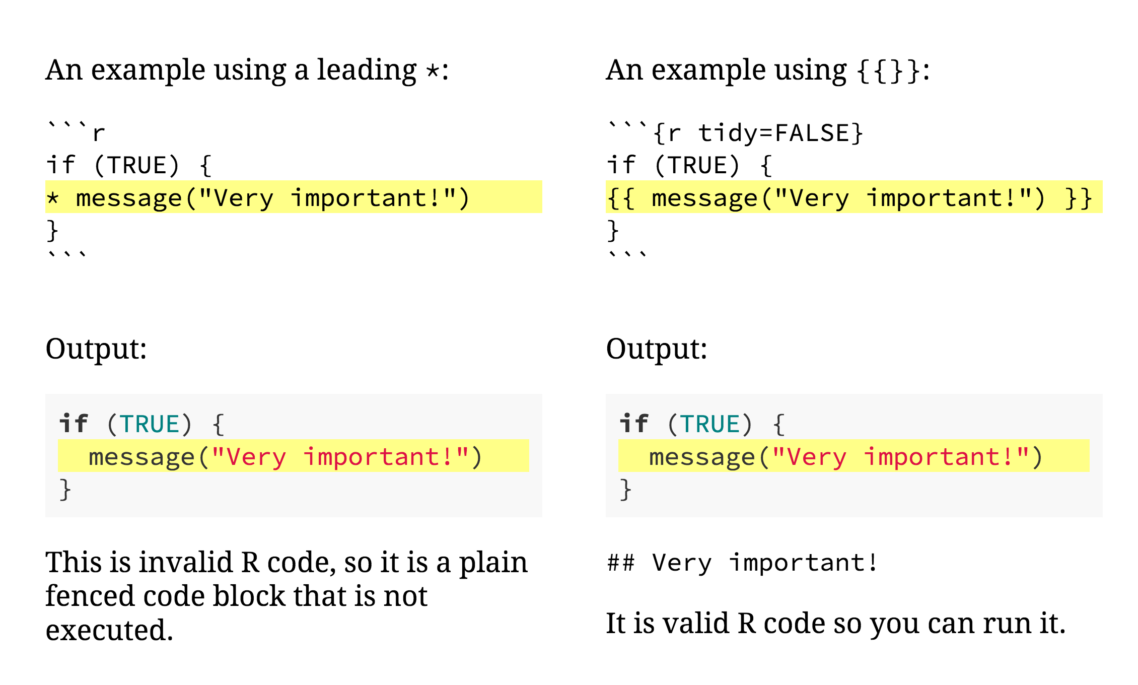 The line highlighting example from the xaringan demo slides.